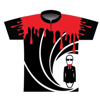 BBR Bond Spy Blood Dye Sublimated Jersey