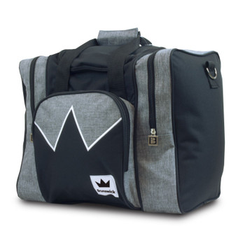 Brunswick Edge Single Tote - Grey/Black