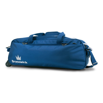 Brunswick Combat Triple Tote Blue