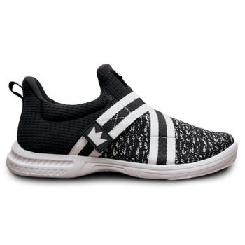 Brunswick Slingshot Mens Bowling Shoes Black/White