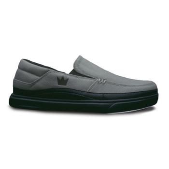 Brunswick Nirvana Mens Bowling Shoes Grey