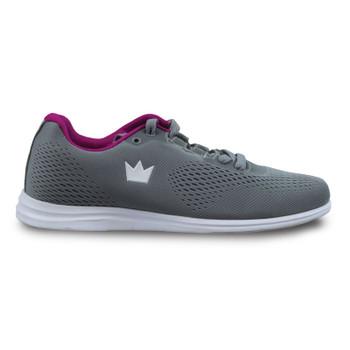 Brunswick Axis Womens Bowling Shoes Grey/Pink