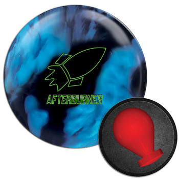 900 Global Afterburner Blue/Black Bowling Ball and Core