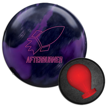 900 Global Afterburner Black/Purple Bowling Ball and Core