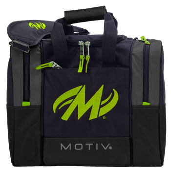 Motiv Shock 1 Ball Bag Grey/Lime