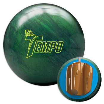 Track Tempo Bowling Ball and Core