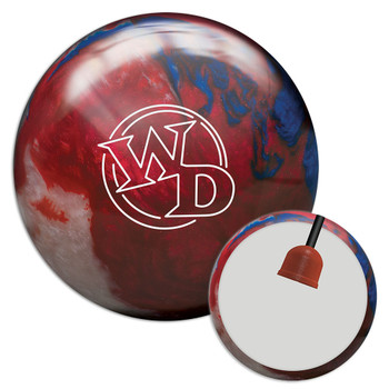 Columbia 300 White Dot Patriot Sparkle Bowling Ball and Core