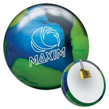 Ebonite Maxim Northern Lights Bowling Ball and Core