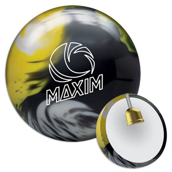 Ebonite Maxim Bowling Ball - Captain Sting Ball and Core
