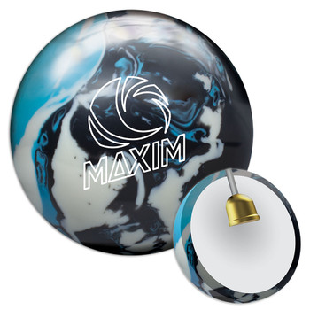 Ebonite Maxim Bowling Ball - Captain Planet Ball and Core