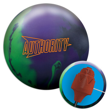 Columbia 300 Authority Solid Bowling Ball and core