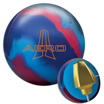 Ebonite Aero Bowling Ball and Core