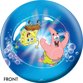 OTTB SpongeBob In A Bubble Bowling Ball
