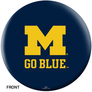 OTBB Michigan Wolverines Bowling Ball