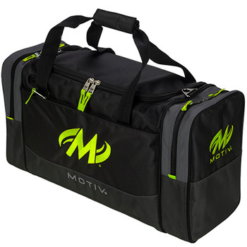 Motiv Shock Double Tote Grey/Lime