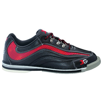 3G Men's Sport Ultra Bowling Shoes - Black/Red