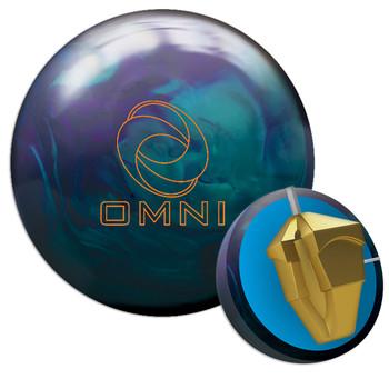 Ebonite Omni Hybrid Bowling Ball and Core