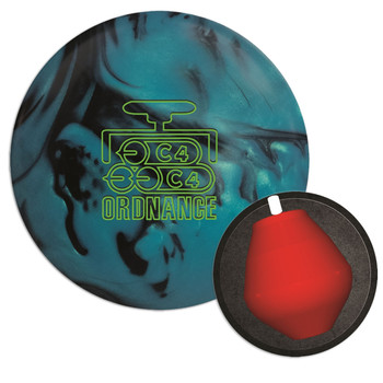 900 Global Ordnance C4 Bowling Ball and Core