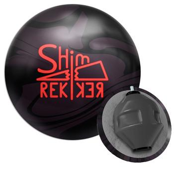 Big Bowling Shim Rekker Bowling Ball and Core Design