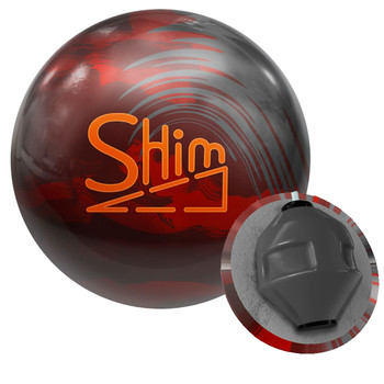 Big Bowling Shim Bowling Ball and Core
