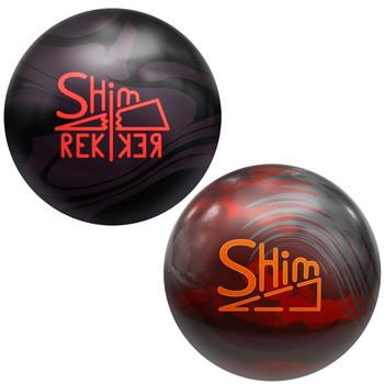 Big Bowling Shim and Shim Rekker Bowling Ball Package