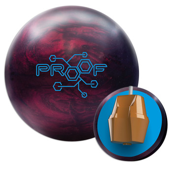 Track Proof Hybrid Bowling Ball and Core