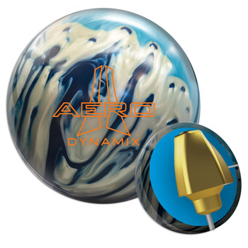 Ebonite Aero Dynamix Bowling Ball and Core