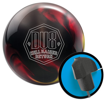 DV8 Hell Raiser Return Bowling Ball and Core
