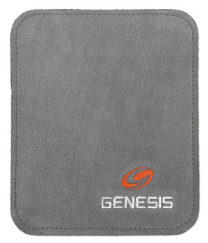 Genesis Pure Ultra Performance Bowling Ball Wipe Pad - Gray - open package