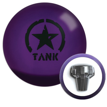 Motiv Purple Tank Bowling Ball and Core