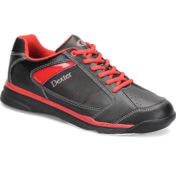 Dexter Ricky IV Mens Bowling Shoes Black/Red Trim