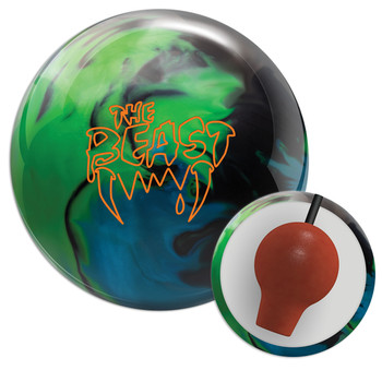 Columbia 300 Beast Lime/Sky/Black Bowling Ball and Core