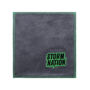 Storm Nation Shammy - Green/Gray Stitching