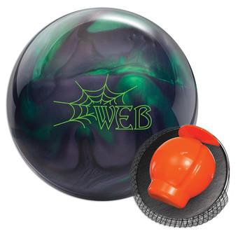Hammer Web Pearl Bowling Ball Jade/Smoke and Core