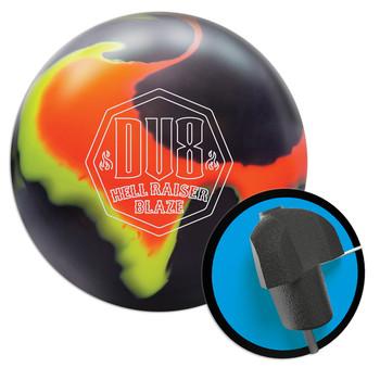 DV8 Hell Raiser Blaze Bowling Ball and Core