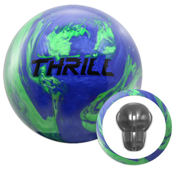 Motiv Top Thrill Blue/Green Bowling Ball and Core