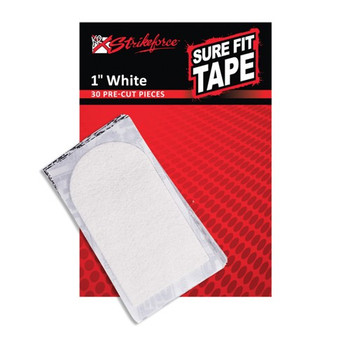 "KR Strikeforce Sure Fit Tape - White 1"" (30 pcs)"
