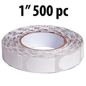 "KR Strikeforce Sure Fit Tape - White 1"" 500 Piece Roll"