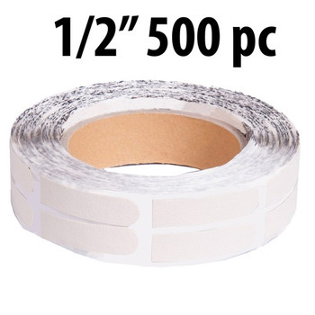 "KR Strikeforce Sure Fit Tape - White 1/2"" 500 Piece Roll"