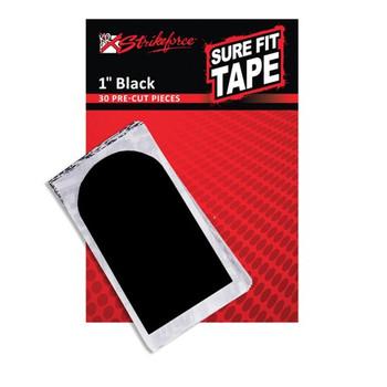 """KR Strikeforce Sure Fit Tape - Black 1"""" (30 pcs)"""
