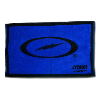 Storm Black/Blue Cotton Bowling Towel