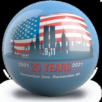OTBB 20th Anniversary 9/11 Bowling Ball