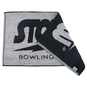 Storm Black/Grey Cotton Bowling Towel