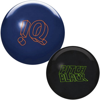 Storm IQ Tour and Pitch Black - 2 Ball Package - 15lbs Only
