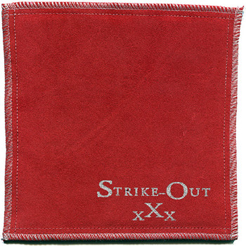 Strike-Out XXX Shammy - Red / Silver