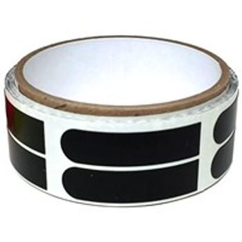 "Powerhouse Premium Black Smooth 1/2"" Bowling Tape - 100 Roll"