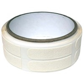 "Powerhouse Premium White Textured 1/2"" Bowling Tape - 100 Roll"