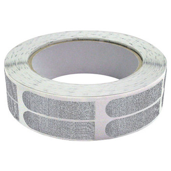 "The Real Bowler's Tape Silver Textured 1/2"" Bowling Tape - 100 Pieces"