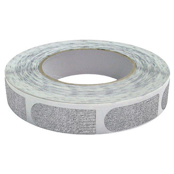 "The Real Bowler's Tape Silver Textured 3/4"" Bowling Tape - 100 Pieces"