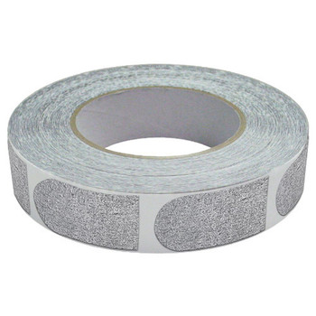 "The Real Bowler's Tape Silver Textured 1"" Bowling Tape - 500 Piece Roll"